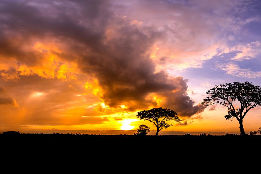 sunset - Johan Slabbert