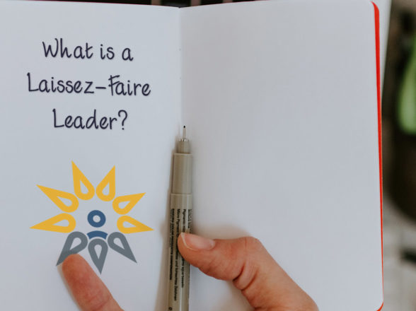 What is a Laissez-Faire Leader?